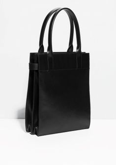 & Other Stories | Structured Leather Tote