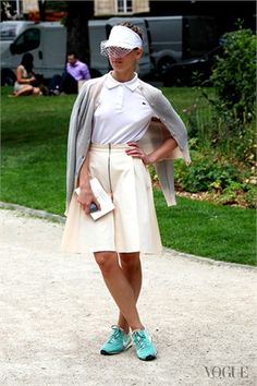 Wimbledon style in Paris