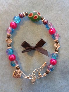 """In loving memory of Mrs Barbara Duncan, my lovely Gran, who will always be in my heart. One a day, Made with love presents today's bracelet 07/05/15. - Love Always for Love is forever – bracelet's £8.50 plus p&p. Please visit """"Local Dundee Designers"""", """"Lovingly Designed Bracelets by Susie with Fibromyalgia"""" and my page Susan McLaughlin to see bracelets made with love."""