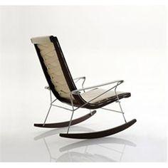 #Mecedora JJ de B&B Italia disponible en http://www.misurashop.com/productos/muebles-de-diseno/butacas/mecedora-jj-de-b-and-b-italia.html