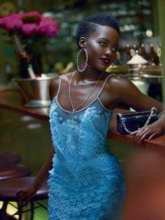 Fierce fashion photography Lupita Nyongo for Vogue