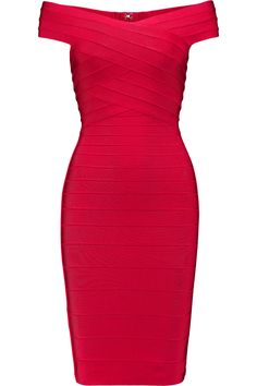 HERVE LEGER Tayler Bandage Dress. #herveleger #cloth #dress