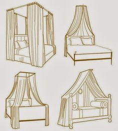 bed canopy - Google Search