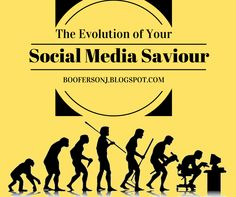 Boo's Insane and Inane Rambling's: The evolution of your Social Media Saviour. Awkward, Evolution, Social Media, Life, Social Networks, Social Media Tips