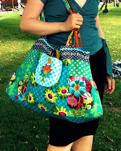 Love this bag...not the fabric though...It might make a good diaper bag...