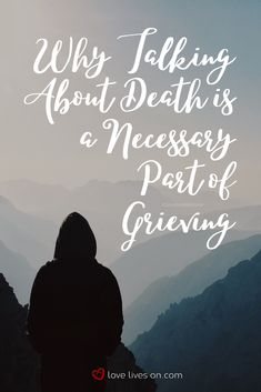 Learn how talking about death and dying can help heal a grieving heart. Dealing With Grief, Grief Support, Social Work, Love Life, Funeral, Death, Bob, Graphics, Lady