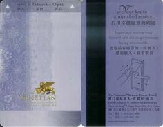 The Venetian Macao Resort Hotel Room Card - http://www.macau-mega.com/?p=7438