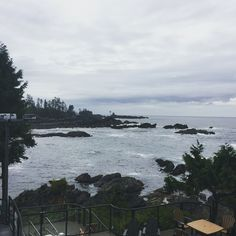 The jaw-dropping rustic elegance of the Black Rock oceanfront resort, located in the Pacific Rim. Ucluelet, British Columbia.