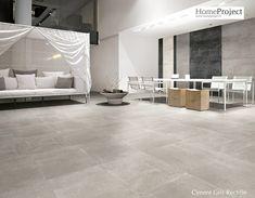 Carrelage Ciment Gris 60 x 60 cm naturel rectifié