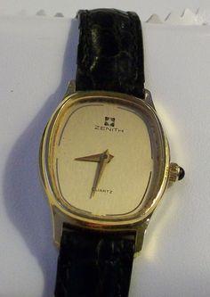 Zenith Ladies watch – Swiss Made Quartz - 1980s by VintWatch on Etsy