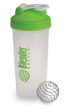 Blender Bottle - Sundesa: A BPA free bottle with a stainless steel blender ball inside. Available in 20 or 28 oz. What a fab idea.