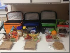 Kids lunch box ideas, healthy lunches for your kids to take to school.