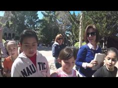 Elementary School Kids Receive Bibles at UCLA