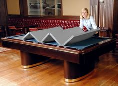 Marvelous Hood Leather 481 46 X 92 In   Convertible Pool Table Cover, Black