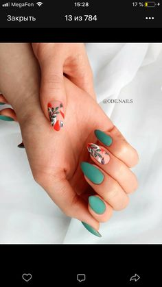 Nail art Christmas - the festive spirit on the nails. Over 70 creative ideas and tutorials - My Nails Cute Acrylic Nails, Cute Nails, Pretty Nails, Hair And Nails, My Nails, Yellow Nails, Dream Nails, Nagel Gel, Minimalist Nails