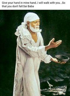 Sai Ram ok thank you Ganesha Drawing, Ganesha Tattoo, Sai Baba Pictures, God Pictures, Hindu Deities, Hinduism, Sai Baba Miracles, Indian Spirituality, Sai Baba Quotes