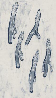 Pia Bramley - asparaghosts