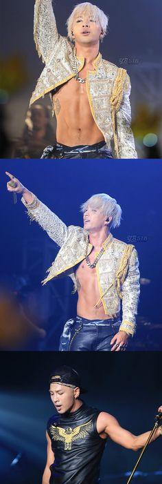 BIG BANG Taeyang held his solo concert in four years.  #taeyang #rise #concert #body #hotbody #taeyang #gd #gdragon #vip #taeyangsong #yg #ygtrainee #top #seungri #kpopmap #kpopalbum #muscle #man