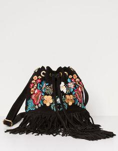 Pull&Bear - woman - bags & backpacks - bag - black - 05821316-V2016