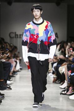 Christian Dada Menswear Spring Summer 2018 Paris