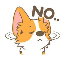 Corgi a collection - Creators' Stickers Cute Animal Drawings, Kawaii Drawings, Cute Drawings, Cute Corgi, Corgi Dog, Corgi Wallpaper, Corgi Drawing, Lion King Drawings, Drawing Cartoon Faces