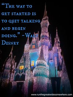 Walt was a wise man.