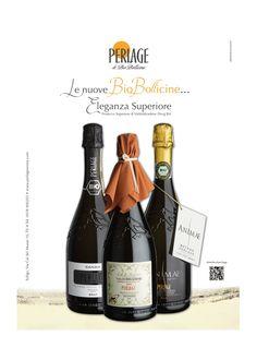 Le nuove #Biobollicine...Eleganza Superiore! #perlage #wine #prosecco #docg