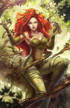 """ Poison Ivy by victter-le-fou """