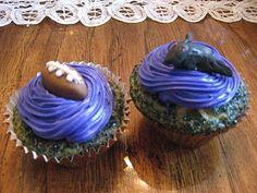 Ravens cupcakes :)