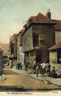 Kent, Folkestone, The Fish Market