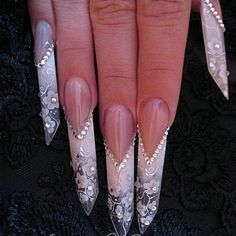 Luxury Stiletto Nails Ideas 2014