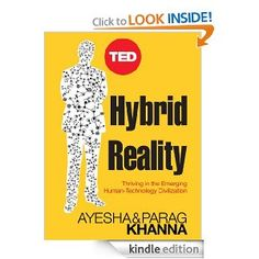 I get it....its about technology but I really wish it was in print and not just Kindle.    Hybrid Reality: Thriving in the Emerging Human-Technology Civilization (TED Books)