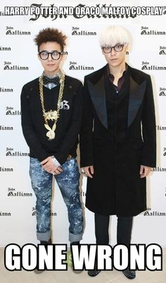 G-Dragon and TOP