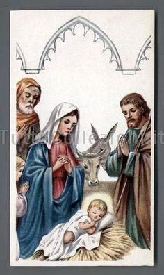 Santini di Gesù Bambino e Natività - TuttoCollezioni.it il sito per collezionisti