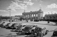 Moscow (the Gorky Park) in the 50s