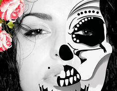 Working On Myself, New Work, Halloween Face Makeup, Behance, Gallery, Check, Photography, Life, Design