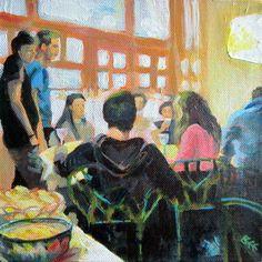 Original painting Italian Restaurant 1 £65.00