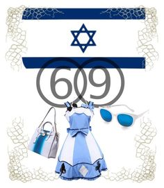 """Happy Birthday, Israel!"" by irenabar on Polyvore featuring art"