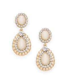 Pave Premiere Earrings - JewelMint