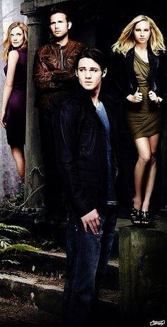 The Vampire Diaries....Ric & Jenna I miss them!!