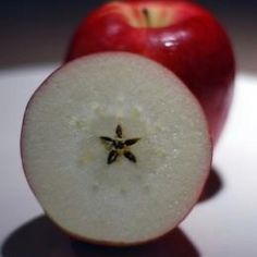 The apple is a much loved symbol of Paganism. Cut an apple width ways & it reveals a pentagram of seeds. The 5 points represent the elements: Earth, Air, Fire, Water & Spirit (also East, South, West, North & Within). A circle around the pentagram represents the eternal cycle of life/nature & of wholeness. The pentacle is believed to provide protection against evil for both the person & the home, worn as an amulet or used to guard entrances to the home through windows & doors.