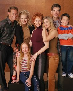 THE GANGS ALL HERE! Reba is a classic if you haven't seen it you don't know how messy and wonderful life can be