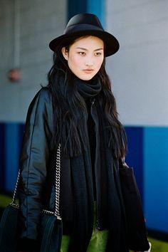 New York Fashion Week AW 2014....Jing Wen