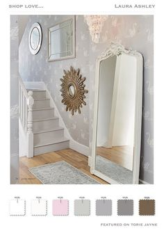 WHAT TO DO WITH MIRRORS: LAURA ASHLEY | Laura ashley, Window and ...