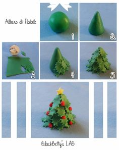 BlackBetty'sLab: Tutorial Christmas tree 1