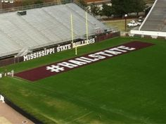 A first at Mississippi State.  #hailstate