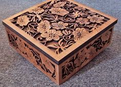 Scroll Saw Patterns :: Boxes -