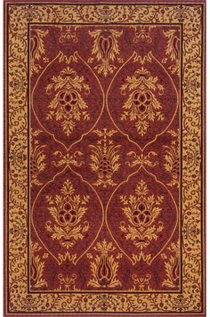 Arts And Crafts Rug Mission Art Nouveau This Is Based On A Hallmark Design By William Morris The Founder Of Mov
