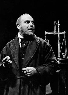 David Suchet of the Royal Shakespeare Company plays Shylock in The Merchant of Venice.