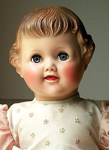 American Character Chuckles Doll / All Original / Molded hair